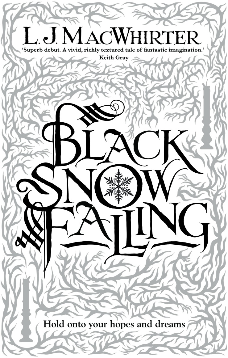 Black Snow Falling front cover - Tim Byrne